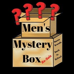 Men's Mystery Box 10 ITEMS $50 NWT/EUC/Gently Worn
